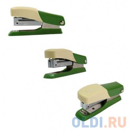 Фото «Мини-степлер FUSION, скоба № 10, на 10 листов, зеленый/желтый IFS705GN/YL» в Санкт-Петербурге