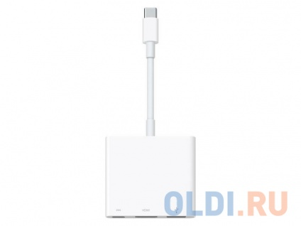Фото «Переходник Apple цифровой AV-адаптер USB-C многопортовый MJ1K2ZM/A» в Москве