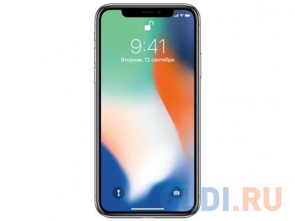 Смартфон Apple iPhone X 64GB Silver MQAD2RU/A