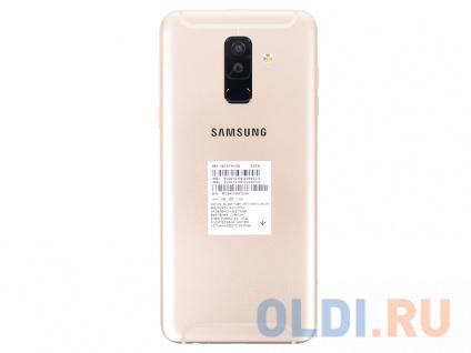 Фото «Смартфон Samsung Galaxy A6+ (2018) SM-A605F/DS золотой» в Москве