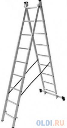 Фото «Олимп Лестница двухсекционная 2x9 1220209A» в Санкт-Петербурге