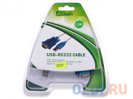 Фото «Кабель-адаптер USB AM - COM port 9pin Aopen ACU804» в Санкт-Петербурге