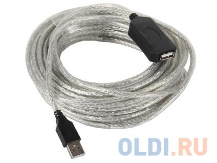 Фото «Кабель-адаптер USB2.0-repeater, удлинительный активный <Am-->Af> 10м VCOM <VUS7049-10M>» в Екатеринбурге
