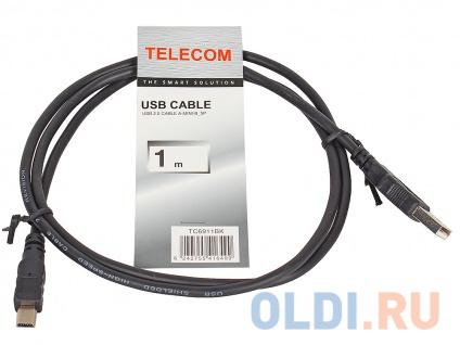 Фото «Кабель USB 2.0 AM/miniB 5P Telecom TC6911BK-1.0M» в Екатеринбурге