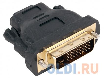 Фото «Переходник Aopen HDMI 19F to DVI-D 25M позолоченные контакты <ACA312>» в Екатеринбурге