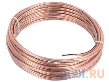 Фото «Акустический кабель Cablexpert CC-TC2x1,0-10M, прозрачный, 10 м, бухта» в Екатеринбурге