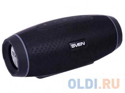Фото «Колонка порт. Sven PS-230 черный 12W 1.0 BT/USB» в Нижнем Новгороде