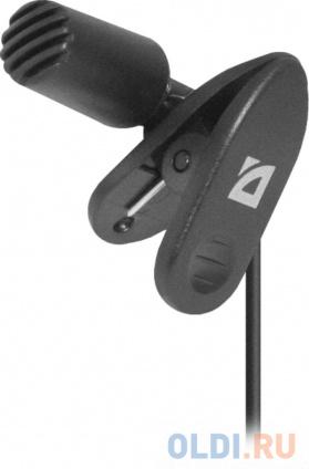 Фото «Микрофон Defender MIC-109 черный кабель 1.8м 64109» в Ростове-на-Дону