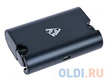 Фото «Гарнитура QCYBER QM-01-002DV01 TWS v2,зарядный чехол (1500мАч). Bluetooth 4.2, радиус 10м.» в Москве