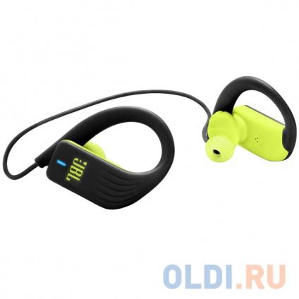 Фото «Bluetooth-гарнитура JBL Endurance SPRINT JBLENDURSPRINTBNL Black Light green» в Москве