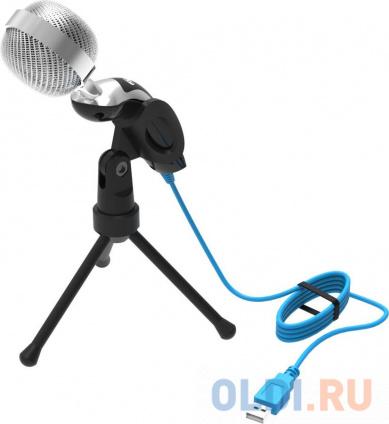 Фото «Микрофон Ritmix RDM-127 USB Black (проводной,всенаправленый,1,5м, USB)» в Санкт-Петербурге