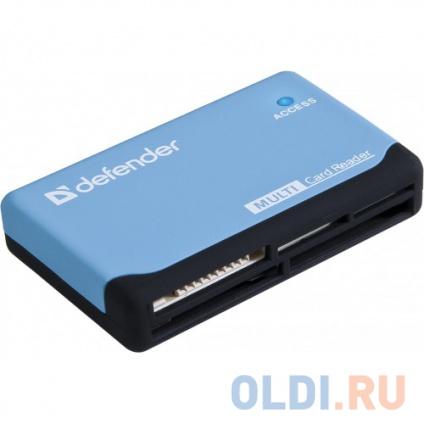 Фото «Картридер Defender ULTRA USB 2.0 Black-Blue» в Санкт-Петербурге