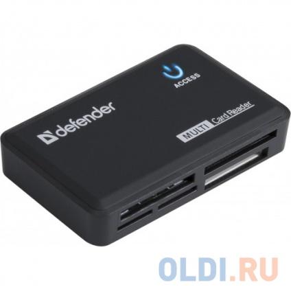 Фото «Картридер Defender OPTIMUS USB 2.0 Black» в Екатеринбурге