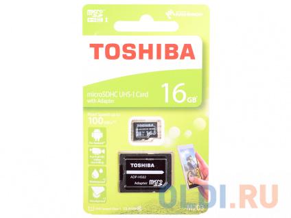Фото «Карта памяти MicroSDHC 16GB Toshiba Class 10 M203 + adapter» в Нижнем Новгороде