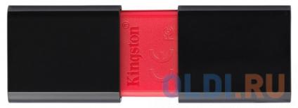 Фото «USB флешка Kingston DT106/16GB 16Gb Black/red (DT106/16GB)» в Нижнем Новгороде