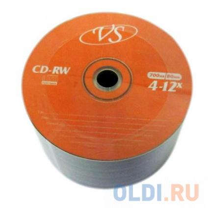 Фото «Диски VS CD-RW 700Mb 12x Bulk/50» в Санкт-Петербурге