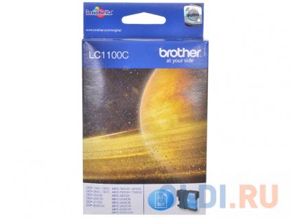 Фото «Картридж струйный Brother LC1100C голубой (cyan) 325 стр.» в Москве