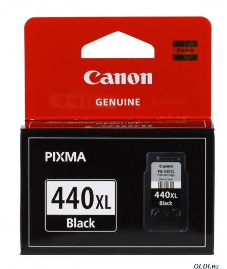 Фото «Картридж Canon PG-440XL черный (black) 600 стр.» в Москве