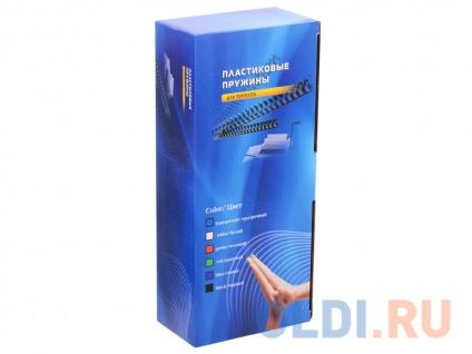 Фото «Пластиковые пружины 12 мм (70-90 листов) белые 100 шт. Office Kit (BP2031)» в Новосибирске