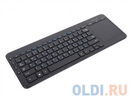 Фото «Клавиатура Microsoft All-in-One Media Keyboard (N9Z-00018) черный USB Беспроводная 2.4Ghz тонкая Multimedia Touch» в Москве