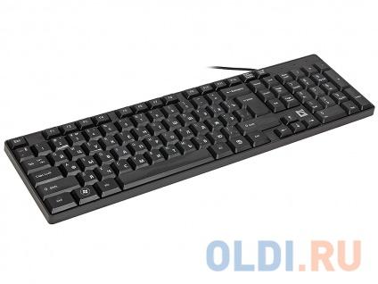Фото «Проводная клавиатура DEFENDER Accent SB-720 RU,черный,компактная» в Нижнем Новгороде