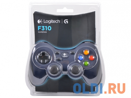 Фото «Геймпад (940-000135) Logitech Gamepad F310 USB (G-package)» в Екатеринбурге