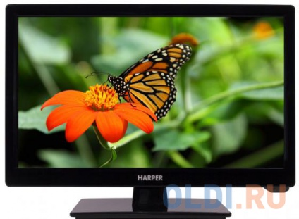 "Телевизор LED 16"" Harper 16R470 черный 1366x768 HDMI USB VGA"