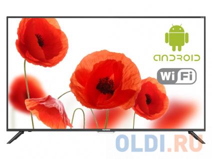 """Фото «Телевизор LED 50"""" TELEFUNKEN TF-LED50S60T2SU черный, ULTRA HD, SMART TV, Wi-Fi, Android 6.0, DVB-T/DVB-T2/DVB-C/DVB-S/DVB-S2» в Санкт-Петербурге"""