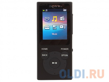 "Фото «Плеер Sony NW-E394 МР3 плеер, черный, 8 Гб, FM-радио, 4 технологии ""Clear Audio+"", micro-USB» в Екатеринбурге"