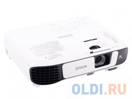 Фото «Проектор Epson EB-X41 1024x768 3600 лм 15000:1 белый черный» в Санкт-Петербурге