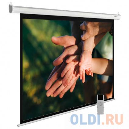 Фото «Экран Cactus 210x280см MotoExpert CS-PSME-280x210-WT 4:3 настенно-потолочный рулонный белый» в Екатеринбурге
