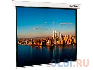 "[LMC-100112] Экран с электроприводом Lumien Master Control 305x406 см (196"") Matte White FiberGlass черн. кайма по периметру"