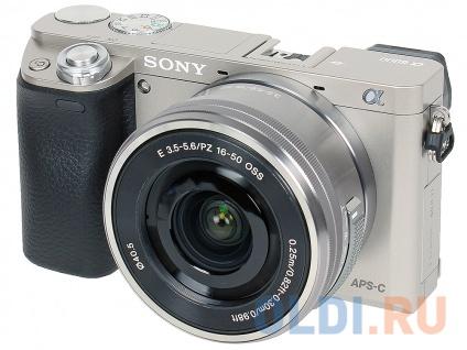 Фотоаппарат Sony Alpha 6000 ILCE-6000LS KIT 16-50 Silver