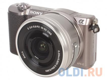 Фото «Фотоаппарат SONY ILCE-5100LT Brown 24.3Mp,SDXC, Wi-Fi, NFC ['ILCE5100LT.CEC]» в Ростове-на-Дону