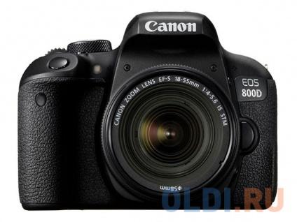 Фото «Фотоаппарат Canon EOS 800D EF-S 18-55 + CP EU26 Kit» в Москве