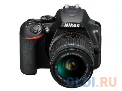 """Фото «Фотоаппарат Nikon D3500 Black KIT <18-55mm P VR 24,7Mp, 3"""" LCD>» в Москве"""