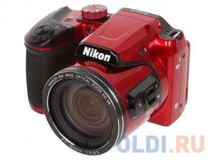 "Фото «Фотоаппарат Nikon Coolpix B500 Red <16Mp, 40x zoom, 3"", 1080P, WiFi, SDHC>» в Екатеринбурге"