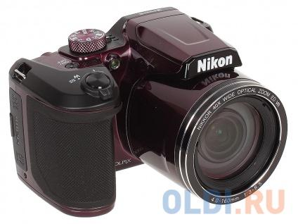 "Фото «Фотоаппарат Nikon Coolpix B500 Plum 16Mp, 40x zoom, 3"", 1080P, WiFi, SDHC» в Ростове-на-Дону"