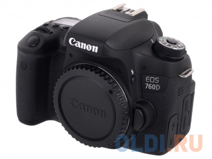 Зеркальный фотоаппарат Canon EOS 760D Body Black