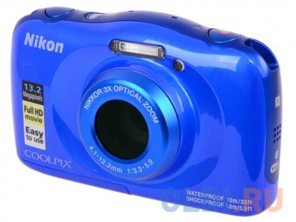 Фотоаппарат Nikon Coolpix W100 Backpack KIT Blue. Доставка по России
