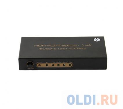Фото «Разветвитель HDMI Spliitter 1=>4 2.0v, 4K/60Hz, VCOM <DD424>» в Нижнем Новгороде