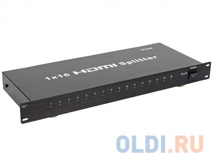 Фото «Разветвитель HDMI Splitter 1 to 16 VCOM DD4116» в Москве