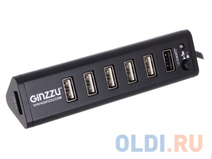 Фото «Концентратор USB 3.0/2.0 Ginzzu GR-315UAB,» в Нижнем Новгороде