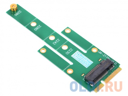 Фото «Переходник SSD mSATA - NGFF(M.2), для подключения NGFF диска к разъему mSATA, ORIENT C294S» в Ростове-на-Дону
