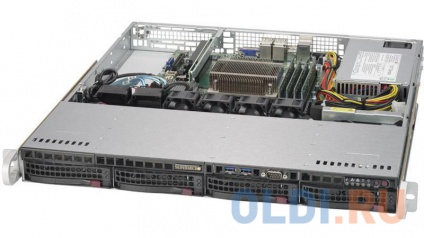 Фото «Серверная платформа Supermicro 1U 5019S-MN4, No CPU E3-1200v5/6, No Mem, no HDD (up to 4x3.5), SATA RAID (0/1/5/10), 4x1GbE, M.2/1xPCIe, 350W Fixed, SYS-5019S-MN4» в Нижнем Новгороде