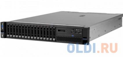 Фото «Сервер Lenovo TopSeller x3650M5 5462K3G E5-2637v3, 1x16GB, noHDD(16x2.5), SAS3 M5210/ZM (0/1/10), DVDRW, 4x1GbE, IMM, LCD, 1x750W (upto 2), Rack Rails, 3y NBD» в Новосибирске