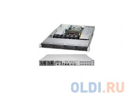 """Фото «Серверная платформа Supermicro SYS-5018R-WR 1U LGA2011-3 C612 8xDDR4 4x3.5"""" 2xGigabit Ethernet 2x500» в Новосибирске"""