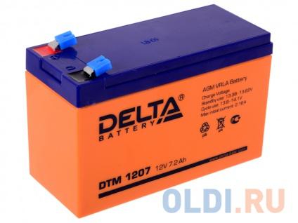 Фото «Аккумулятор Delta DTM 1207 12V7.2Ah» в Ростове-на-Дону