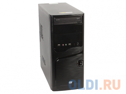 Фото «Компьютер OLDI Computers Office 136 0481820 (A4 6300/4Gb/500Gb/SVGA/DVD±RW/450W/Win10Home)» в Москве