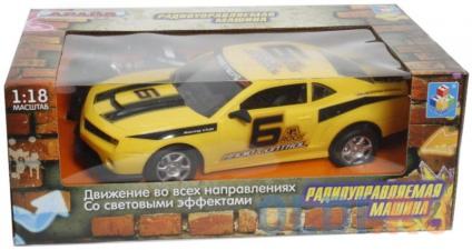Фото «Машинка на радиоуправлении 1toy Драйв желтый от 3 лет пластик» в Санкт-Петербурге